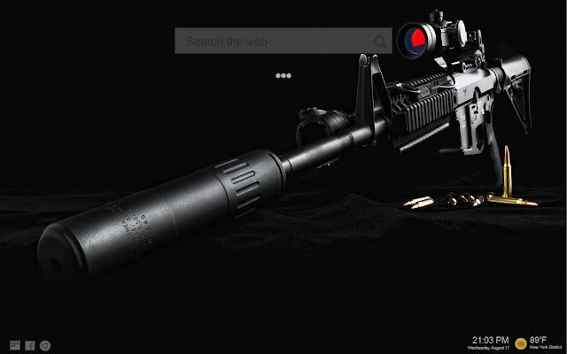 Guns Backgrounds NewTab