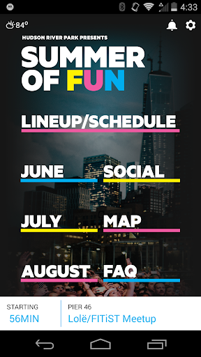 Hudson River Park Events