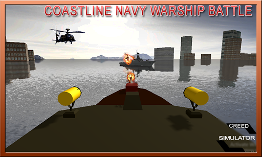 Coastline Navy Warship Battleship Fleet Simulator 1.0.1 5