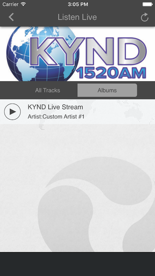 KYND RADIO 1520 AM- screenshot