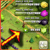 Pro Easy Cheat CoC & unlimited coins for coc Prank