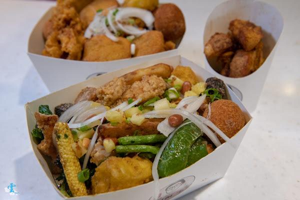 台北宵夜推薦》鹹酥李 – 文青不油膩的創意鹹酥雞 八種免費配料加純素選擇 必點蘋果酥酥
