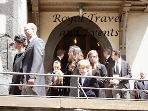 Photo: Prince Philipp and Princess Laetitia of Hesse, behind granchildren ?