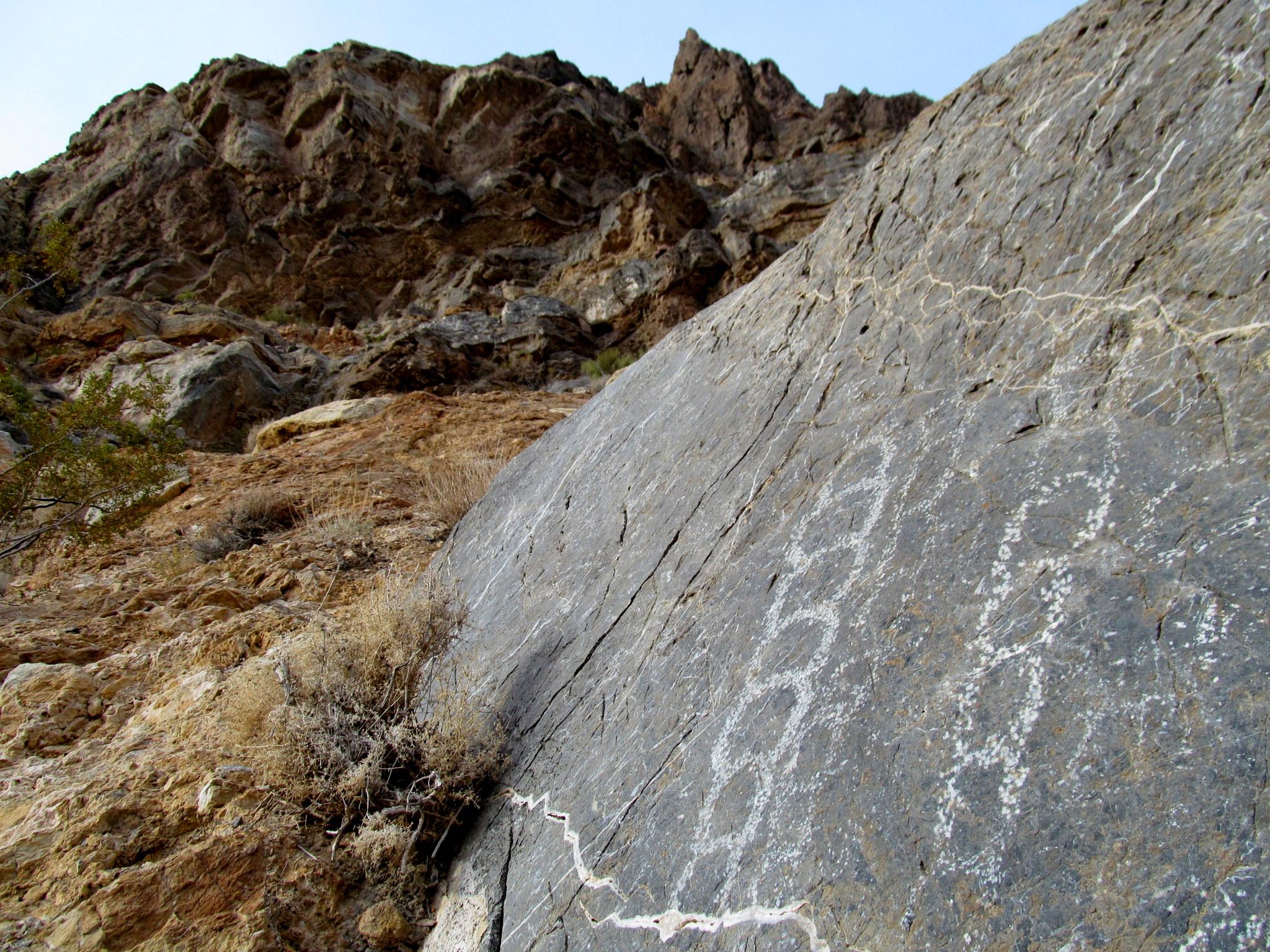 Photo: Klare Spring petroglyphs