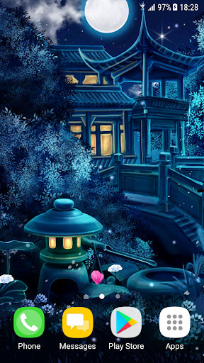 Magic Night Live Wallpaper 1.0.8 screenshots 2