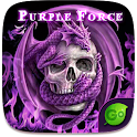 Purple Force GO Keyboard Theme icon