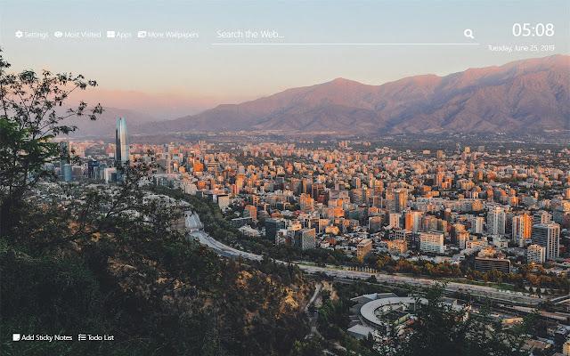 Chile Wallpaper HD New Tab Theme