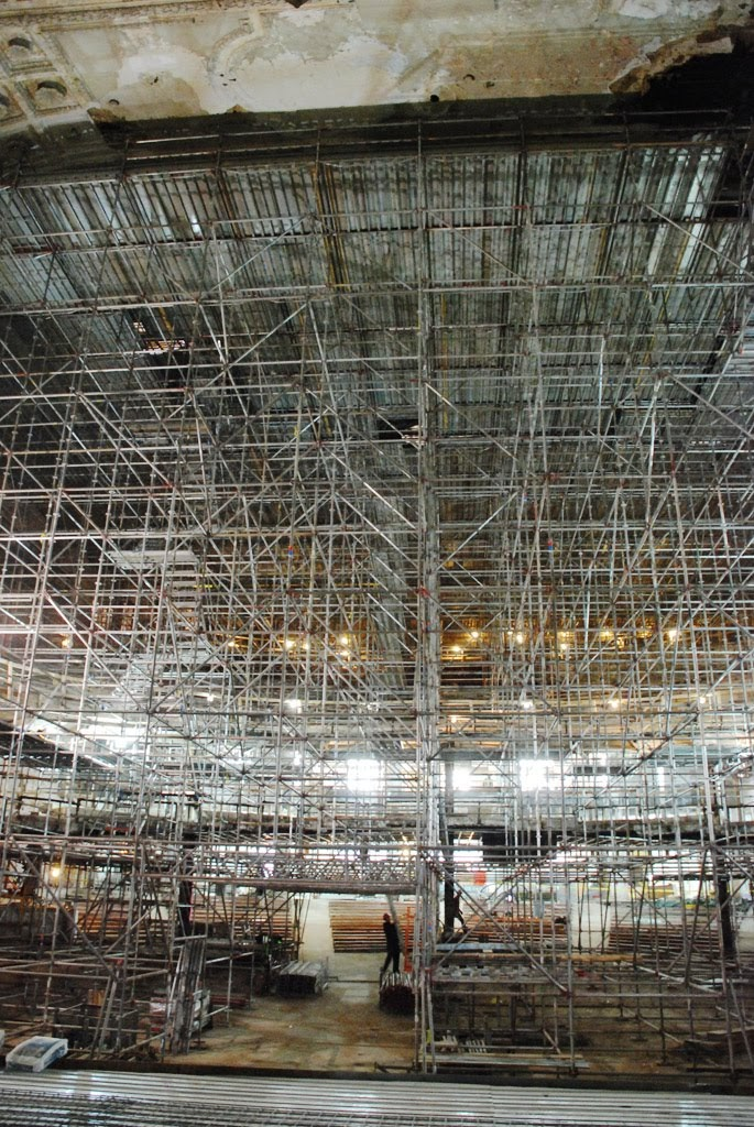 Scaffold, scaffolding, scaffolding, rent, rents, scaffolding rental, construction, ladders, equipment rental, scaffolding Philadelphia, scaffold PA, philly, building materials, NJ, DE, MD, NY, renting, leasing, inspection, general contractor, masonry, 215 743-2200, superior scaffold, electrical, HVAC, swing stage, swings, suspended scaffold, overhead protection, canopy, transport platform, lift, hoist, mast climber, access, buckhoist, the met, metropolitan opera house, philadelphia