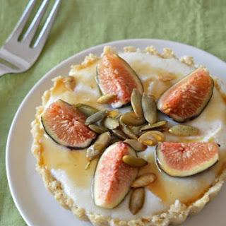 Gluten Free Raw Fig Tarts.