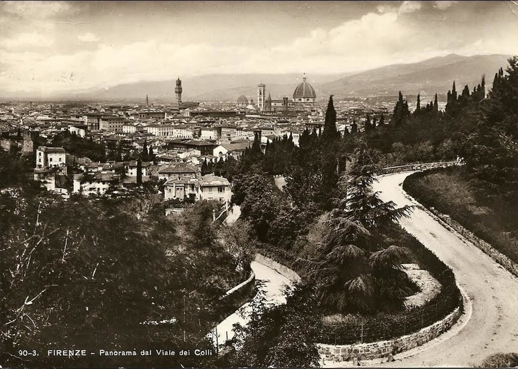 The Viale dei Colli, Florence