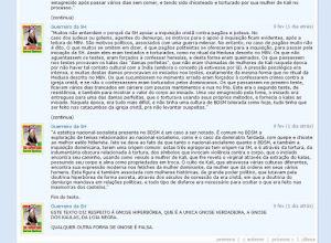 """Photo: Este mesmo tópico hiperbóreo foi primeiramente criado na comunidade disfarçada de gnóstica do perfil DORI em 05 de março de 2001.  Confira em: https://plus.google.com/photos/108380288556674555526/albums/6048512195588054481/6064089596725459074?pid=6064089596725459074&oid=108380288556674555526  https://plus.google.com/photos/108380288556674555526/albums/6048512195588054481/6064089581137105794?pid=6064089581137105794&oid=108380288556674555526  A permissividade estava tão declarada que teve um hiperbóreo lá, de nome Guerreiro da SH , que chegou a introduzir aquele texto """"Ser Escravo da SH"""" para falar dos kalas que eles engolem e das torturantes iniciações ( negras ) relativas aos Kaula para fazerem dos coitados seguidores da satânica seita hiperbórea serem ESCRAVOS DA SH. ( SH = """"Sabedoria"""" Hiperbórea ).  Como vê, eles criam estas comunidades fingidas de gnósticas com o objetivo de levar as pessoas ao tantra Kaula.  Algumas comunidades fazem isso DIRETAMENTE; outras INDIRETAMENTE , através de Links sobre sites e sobre editoras falsamente ditas """"gnósticas"""" que vendem também livros de bruxaria, Kaula Tantra ( tantrismo negro ), de ocultismo satânico, etc.  Observe a última frase do texto onde eles assumem serem adeptos da LOJA NEGRA por serem praticantes do KAULA TANTRA ( Tantrismo negro )."""