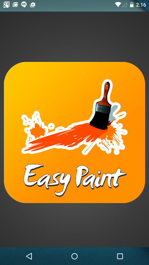 Easy Paint App Android Apps On Google Play