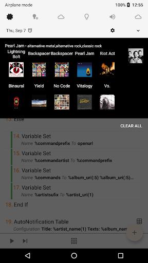 AutoNotification screenshot 2