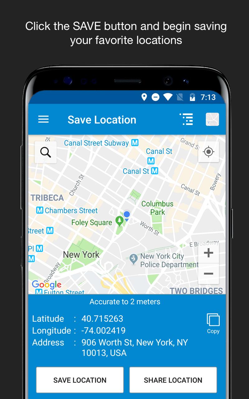 Save Location GPS Screenshot 0