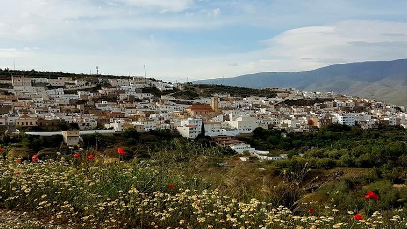 Imagen de Abla, pueblo perteneciente a la Comarca de Nacimiento.