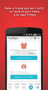 TinMen Homely Food Ordering screenshot 7