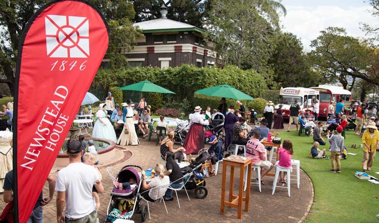 A special event at Newstead House in Brisbane.