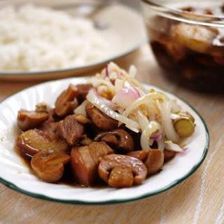 Five Spice Chinese Pork Stew.