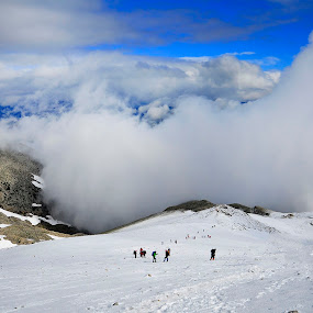 nature by Mustafa Tor - Landscapes Cloud Formations ( clouds, winter, nature, peoples, white )