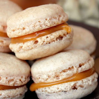 Five Spice Macarons with Caramel