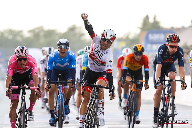 """Ijzersterke Ulissi verbaast zichzelf in de Ronde van Italië: """"Twee etappezeges? Dat had ik echt niet verwacht"""""""