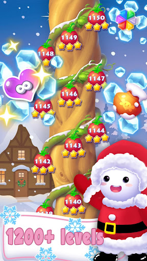 Ice Crush 2020 -A Jewels Puzzle Matching Adventure apktreat screenshots 1