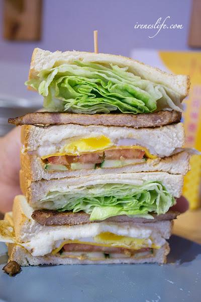 打飽嗝炭烤三明治
