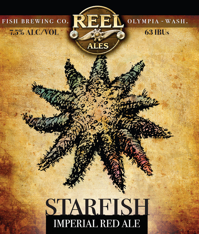 Logo of Fish Tale Starfish Imperial Red