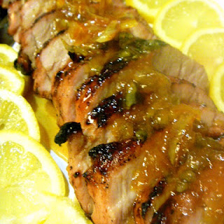Grilled Citrus Pork Tenderloin
