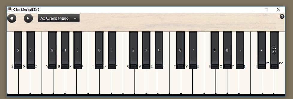 Click MusicalKEYS