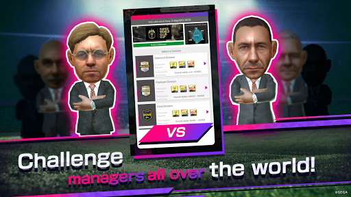 SEGA POCKET CLUB MANAGER screenshots 5
