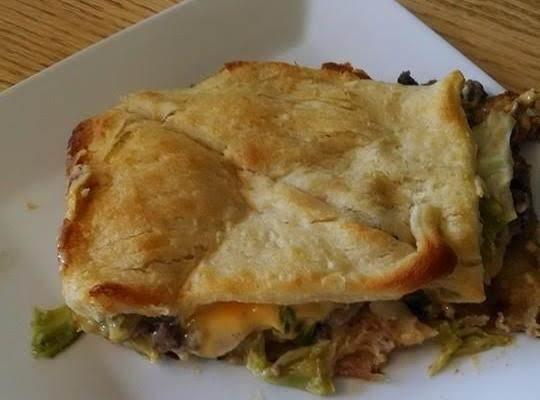 Cabbage Beef  Crescent Casserole Recipe