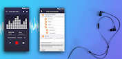 voice recorder pro app for Android screenshot