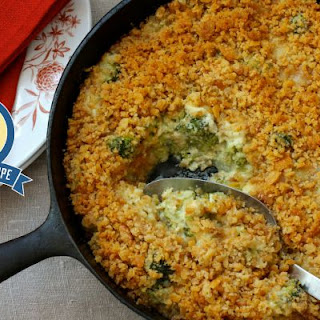 Broccoli Casserole With Ritz Crackers And Cream Of Mushroom Soup Recipes