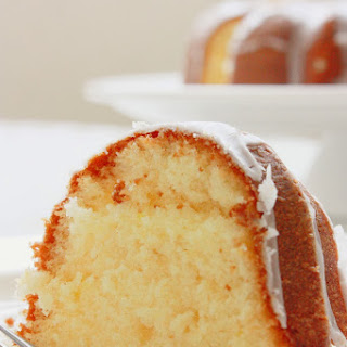 Lemon Glaze Bundt Cake Recipe