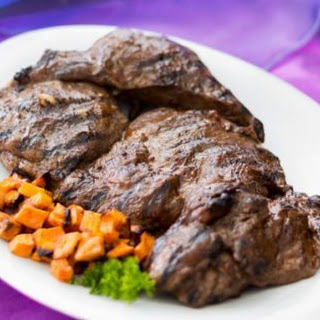 Grilled Leg of Lamb with Moroccan Date Sauce
