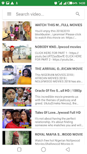 Nigerian Movie : 🇳🇬 Free Movies, Music and Drama App Download For Android 3