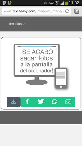 TextItEasy++: share the web