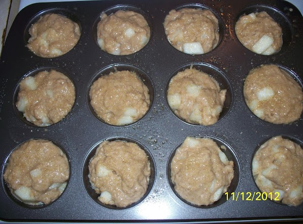 I use a 1/4 measuring cup to fill my muffin cups with, and I...