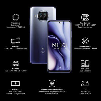 Mi 10i 5G Smartphone In India