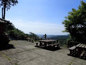 小笠神社の展望所