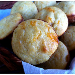 Roasted Chile and Cheddar Corn Muffins.