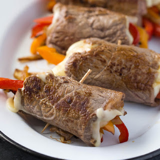 Low Carb Philly Cheesesteak Roll Ups Recipe