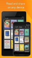 Screenshot of Amazon Kindle
