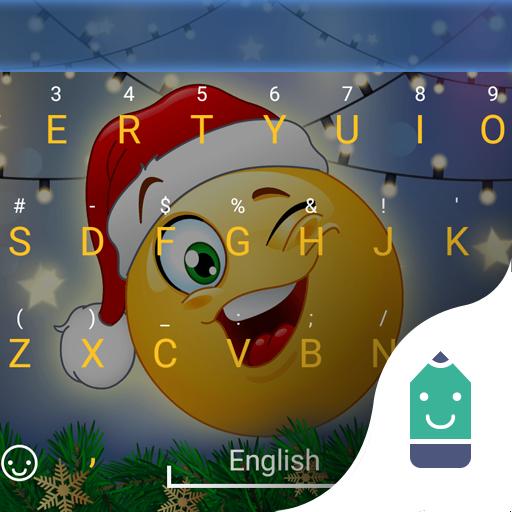 Christmas Emoji Theme Keyboard