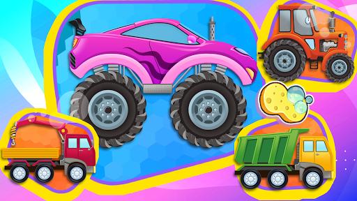 Car Games: Clean car wash game for fun & education screenshot 7
