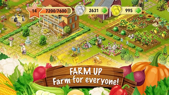 Jane's Farm: Farming Game – Build your Village Apk Download For Android and Iphone 5