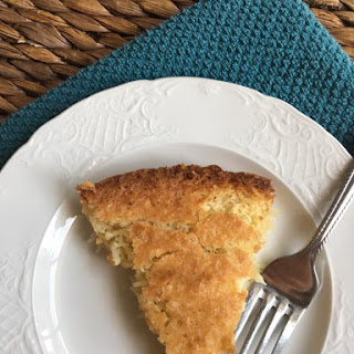 Low Carb French Coconut Pie.