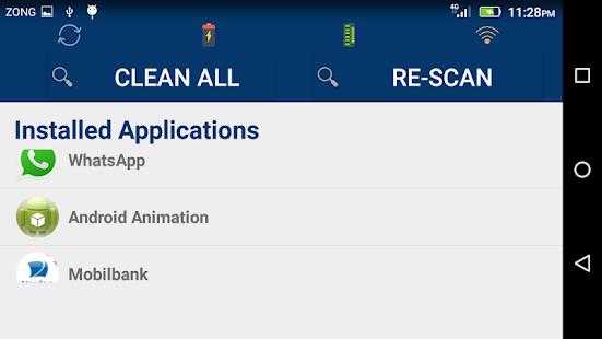Cache Cleaner screenshot