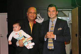 Photo: Kunniavieras - hedersgäst Joakim Strand,, kaupunginvaltuuston puheenjohtaja - stadsfullmäktiges ordförande